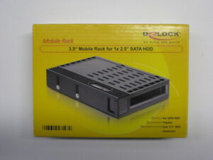 """Wechselrahmen für 2,5"""" Festplatten / SSD - DeLock 47198"""