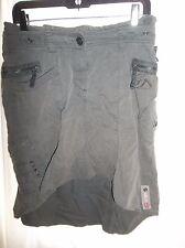 Kiltec GiGa DX Authentic Streetwear Women's Size 6 Camo Green Skirt COOL!