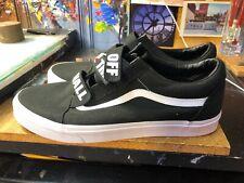 10a7f4f31a4eda Vans Old Skool V (Off The Wall) Black White Size US 13 Men