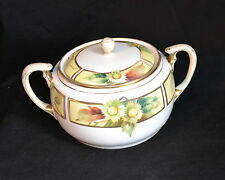 Nippon - Hand Painted - Biscuit Jar - 8 3/4 inch - Morimura - VG