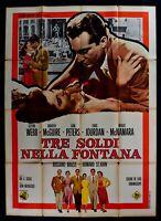 Poster Drei Money IN Brunnen Webb Peters Brazzi Siegel Jourdan Mcgurie M303