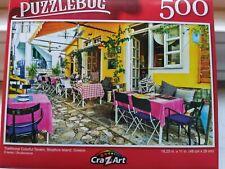 New 500 Piece Jigsaw Puzzle (Colorful Tavern, Skiathos Greece)