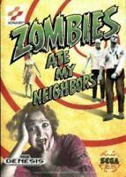 SEGA Mega Drive / Genesis - Zombies ate my Neighbors US Modul