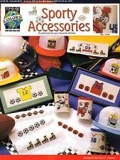 Sporty Accessories Cross Stitch Leaflet - True Colors BCL-10168 - 1992