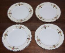 """Noritake ROMEO Pattern - 4 Lunch Plates 8-1/2"""" across - Luncheon Nice Condition"""