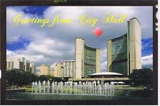 GREETINGS FROM TORONTO CITY HALL - ONTARIO CANADA POSTCARD NEW  # M-0205