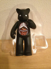 SIGNED 3x Black Target Self Medicated Figure by Luke Chueh Munky King + PHOTO