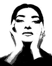 Art Poster Maria Callas  Art Print