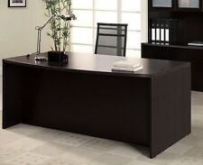 "New Amber 71"" Bowfront Work/Computer Executive Office Desk"