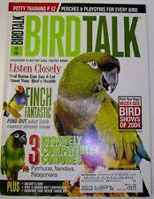 *BIRD TALK MAGAZINE Jul 04 Conure Potty Train Parrot Finch Lorikeet Bird Shows