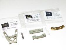 AB6-0821 Associated T4/B4 C4.2 Aluminum Bulkhead A-arm Hinge Mounts Brass Weight