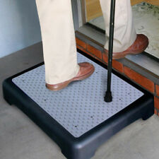 HALF STEP ANTI SLIP ELDERLY DISABILITY DOOR WALKING STOOL OUTDOOR MOBILITY AID