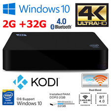 Z83II Mini PC TV Media Box 2G 32G Windows 10 Intel Atom Quad Core Dual WiFi BT