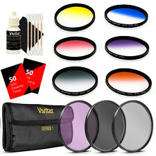 Vivitar 52mm Multi Coated Graduated Filter Kit with Top Accessory Kit