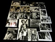 clint eastwood rare lot 55  photos presse cinema western , polar ...