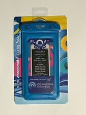 NEW! Tzumi 100% Waterproof Floating Cell Phone Case/Pouch - All iPhones - Blue