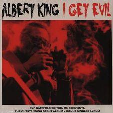 ALBERT KING I GET EVIL - 2 LP GATEFOLD SET - VINYL