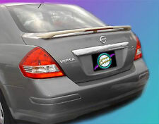 UNPAINTED SPOILER FOR A NISSAN VERSA 4-DOOR 2007-2011 CUSTOM STYLE SPOILER