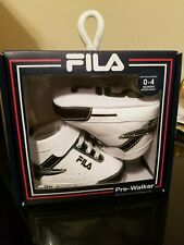FILA Pre - Walker 0 - 4 months Leather Infant Unisex High Top Sneakers
