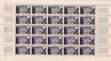 TUNISIE Année 1957 Feuilles entière n°381 NEUF**