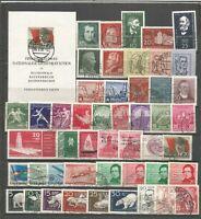 DDR  1956  gestempelt   kompletter   Jahrgang   c