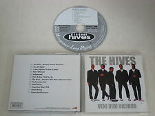THE HIVES/VENI VIDI VICIOUS(BURNING HEART RECORDS BHR 107) CD ALBUM