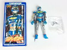 SHAIDER  CHOGOKIN  Figurine/Figure Space Sheriff 12cm bandai 1984 X-or gavan
