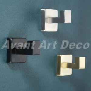 Single Hook Holder Stainless Steel Matt Robe Towel Jacket Coat Bathroom Hardware