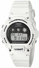 Casio Kids W-214HC-7AVCF Classic Digital Display Quartz White Watch
