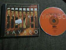 CD CARLOS OLIVA Y LOS SOBRINOS DEL JUEZ - YAYABO - ENVIDIA EDD - SALSA - AÑOS 90