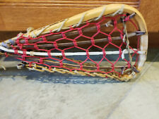 Vintage Patterson Wooden Lacrosse Stick Handmade By Tuscarora Nation
