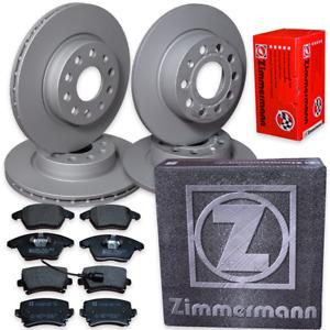 Zimmermann Bremsen Kit Golf 5   1,4-1,6-1,9 TDI- 2,0 TDI  Bremsscheiben Beläge