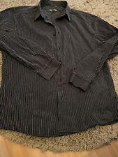 Black/White pinstriped H&M shirt size XL