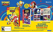 Sonic Mania Plus - Launch Edition [Nintendo Switch SEGA 2 New Characters] NEW