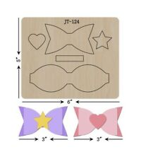 Bow Cutting  Die / Sizzix Compatible - JT124
