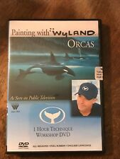 NEW Wyland DVD Painting Orca Whales, In Acrylics, as seen on TV, ART