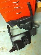 82-88 1986 86 Firebird Camaro black lower quarter panel trim Lap Belt FREE SHIP!