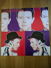 David Bowie Black Tie White Noise Original Promo Poster 2 Sided Double Flat 1993