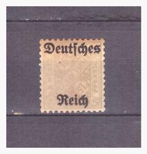 Deutsches Reich Sammlung Dienstmarke Mi.59 Farb-Fehldruck ungebr. Falz selten