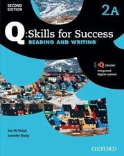 Q: Skills for Success Reading and Writing: Level 2 Student Book A by McVeigh, J
