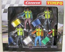 Carrera Figuren Streckenposten 5 Stück für Carrera Evolution / Digital132 -21115