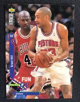 Michael Jordan-Grant Hill 1995 Upper Deck Collectors Choice Fun Facts #173(RARE)