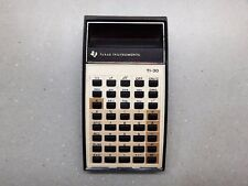 Rare Vintage Calculator Texas Instruments TI 30 TI-30 USA Works Great FREE SHIP