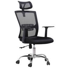 High Back Mesh Office Adjustable Swivel Computer Desk Task Chair Chrome Base