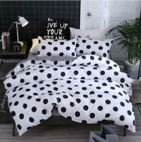 3D Black And White Dots KEP8656 Bed Pillowcases Quilt Duvet Cover Kay