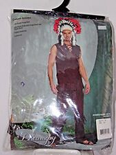Size XXL Men's Western American Brave Costume Cosplay Halloween Dance