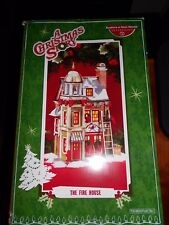DEPT 56 A CHRISTMAS STORY THE FIRE HOUSE STATION NIB *Still Sealed*