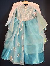 New Disney Store ELSA Frozen DELUXE Costume Dress Girls S 5/6