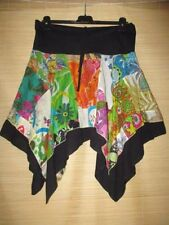 Unbranded Knee-Length Hand-wash Only Floral Skirts for Women