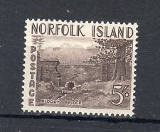Norfolk Island 1953 5s MLH